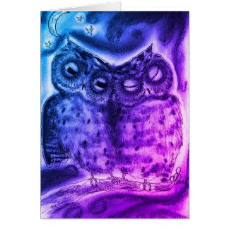 Night Owl Love Card
