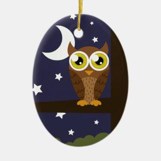 """Night Owl"" Ornament"