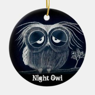 Night Owl - Ornament