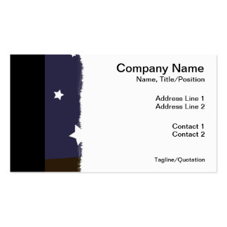"""""""Night Owl"""" Pack Of Standard Business Cards"""