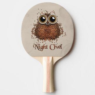 Night Owl Ping Pong Paddle
