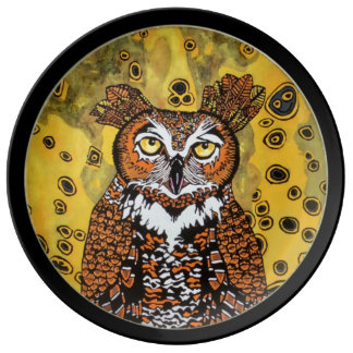 NIGHT OWL PLATE