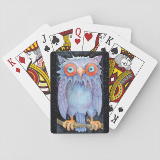 Night Owl Playing Cards
