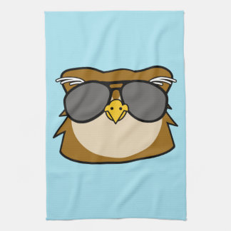 Night Owl Tea Towel