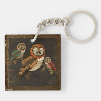 Night Owls Keychain