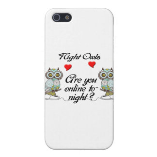 Night Owls multiple products selected iPhone 5/5S Covers