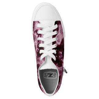 Night party printed shoes