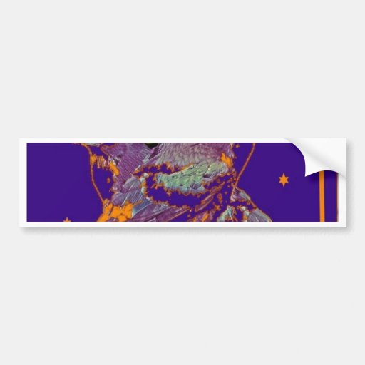 Night Ravens Goth moon by Sharles Bumper Stickers