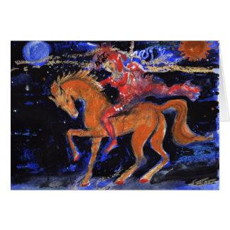 Night Rider Card