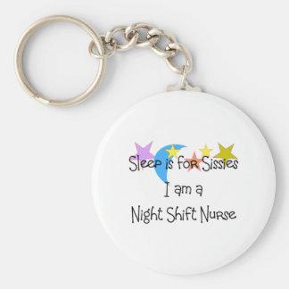 Night Shift Nurse Gifts Key Ring