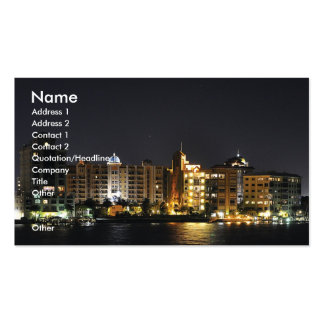 Night Shot Pack Of Standard Business Cards