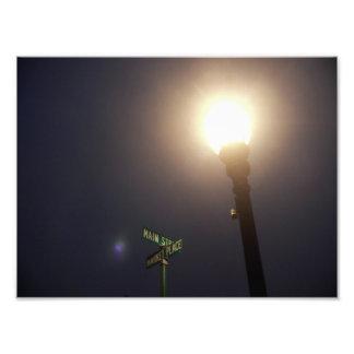 night sign photo print