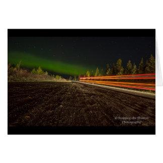 Night Skies - Northern Lights Card