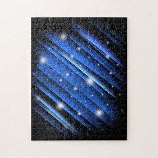 Night Sky Abstract Jigsaw Puzzle