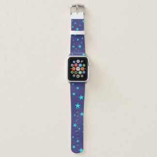 Night Sky Background With Stars Apple Watch Band