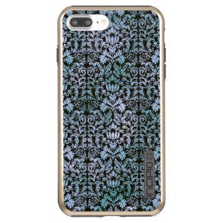 Night Sky Batik Shibori Blue Damask Mottled Incipio DualPro Shine iPhone 8 Plus/7 Plus Case