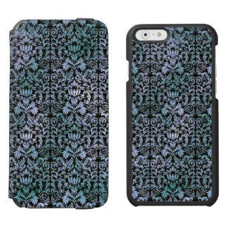 Night Sky Batik Shibori Blue Damask Mottled Incipio Watson™ iPhone 6 Wallet Case
