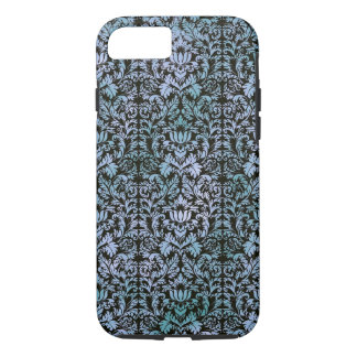 Night Sky Batik Shibori Blue Damask Mottled iPhone 8/7 Case