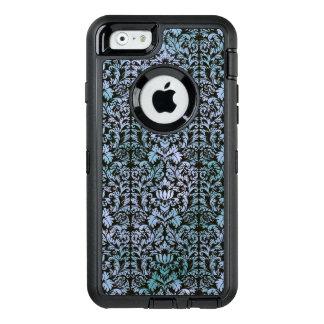 Night Sky Batik Shibori Blue Damask Mottled OtterBox Defender iPhone Case