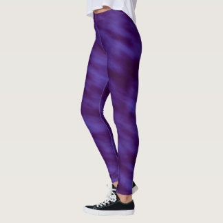 Night Sky Black and Indigo Ombre Leggings