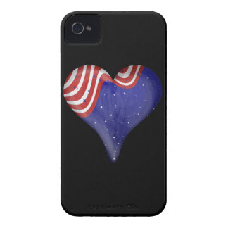 Night Sky Heart Case-Mate iPhone 4 Cases