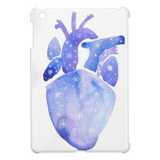 Night Sky Heart iPad Mini Covers