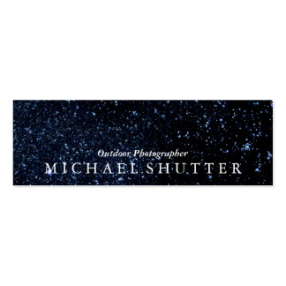 Night Sky Pack Of Skinny Business Cards