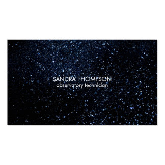 Night Sky Pack Of Standard Business Cards
