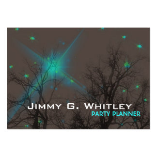 Night Sky - Party planner Card Business Cards