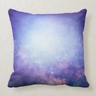 Night Sky Stars in Outer Space Cushion