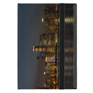 Night Skyline Chicago Pano Case For iPad Mini