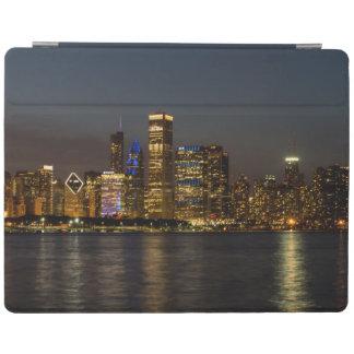 Night Skyline Chicago Pano iPad Smart Cover