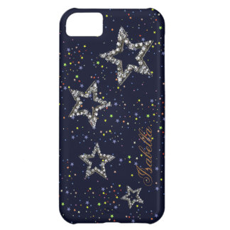 night stars personalizable iPhone 5C case