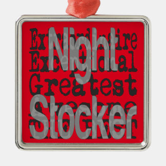 Night Stocker Extraordinaire Metal Ornament