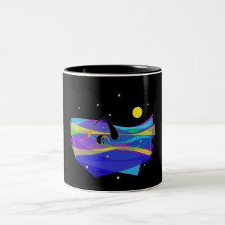 Night Swim Two-Tone Coffee Mug