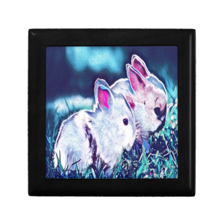 Night Time Dwarf Bunnies Gift Box
