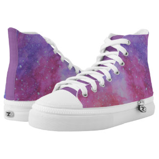 Night Time Nebula High Tops