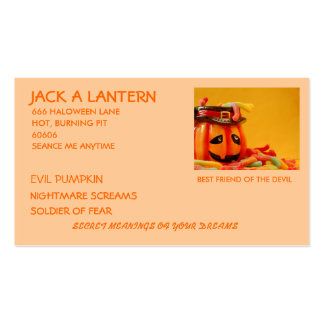 NIGHT TO HOWL Business Card