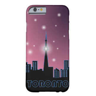 Night Toronto skyline without moon Barely There iPhone 6 Case
