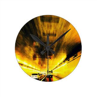 Night Tunnel Clock