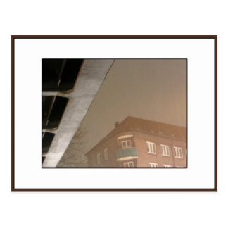Night Under the Bridge, Hamburg Postcard