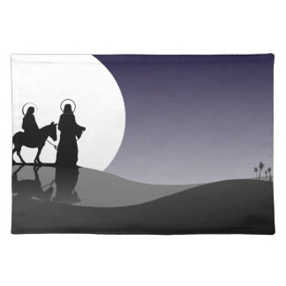 Night view placemat
