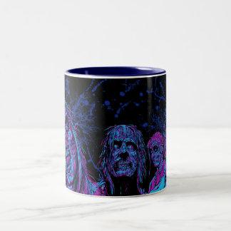 Night Vision Surprise - Funky Two-Tone Mug