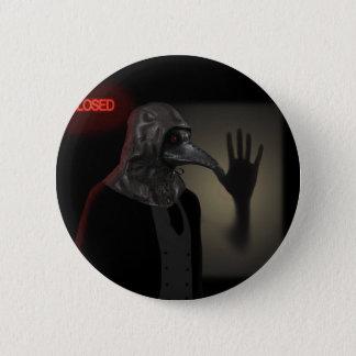 Night walk 6 cm round badge
