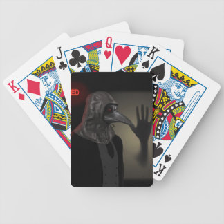 Night walk bicycle playing cards