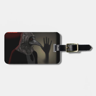 Night walk luggage tag