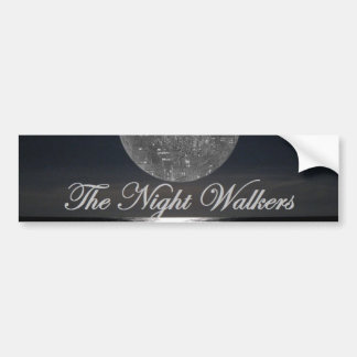 night walker bumper sticker