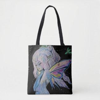Night Watch Fairy by Carol Zeock Tote Bag