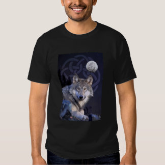 Night Wolf with Celtic Knot Tees