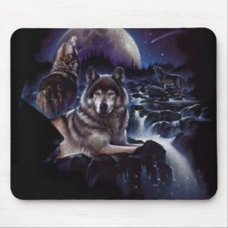 Night-Wolves-wolves-2812983-296-300 Mouse Pad